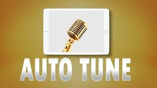 Auto tune iOS | How to use Auto tune on Iphone/Ipad (Engsubs)