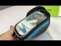 5.5'' window 2.5L Bicycle Cycling Pannier Handbar Saddle Bag for Smartphones review