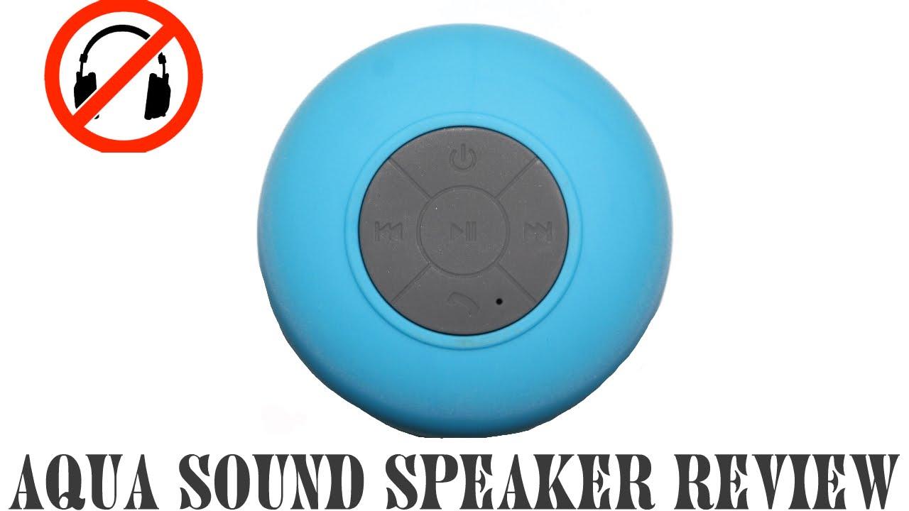 Review Aqua Sound Shower Speaker Youtube