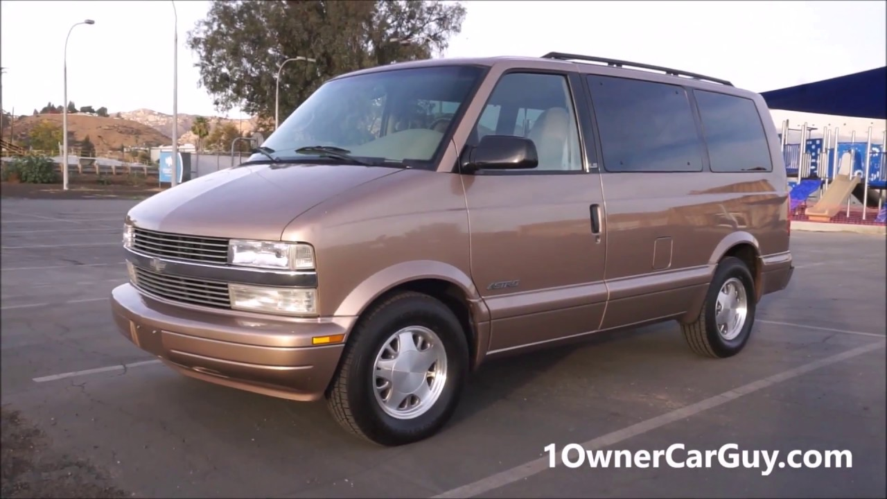 Chevy Astro Minivan Gmc Safari Van Family 1 Owner Vans