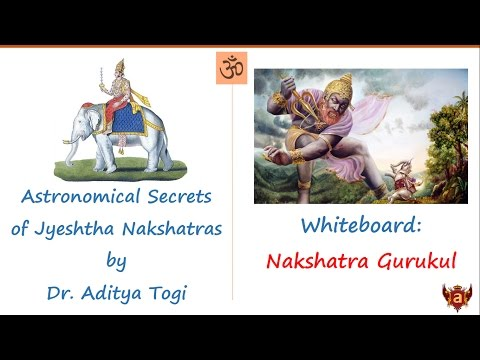 Whiteboard: Astronomical Secrets of Jyeshtha Nakshatra by Dr  Aditya Togi