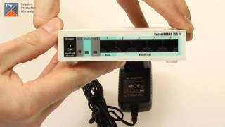 Видеообзор маршрутизатора MikroTik RB750GL