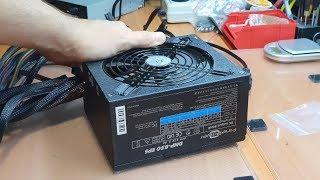 Не включается / Выбивает автомат при запуске ATX БП FinePower DNP-850EPS 800W