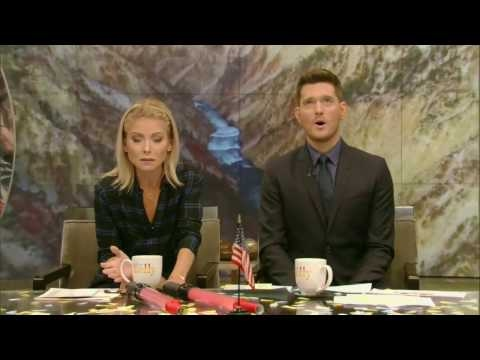"Live With Kelly  10/25/2016  co-host Michael Bublé:John Lithgow (""The Crown""); singer Phil Collins"