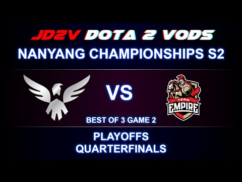Wings vs Empire Nanyang S2 Playoffs, WB Quaterfinals Game 2 VOD / iceice Pudge / Ramzes Timbersaw