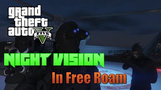 GTA Online How to Get Night Vision on Free Roam