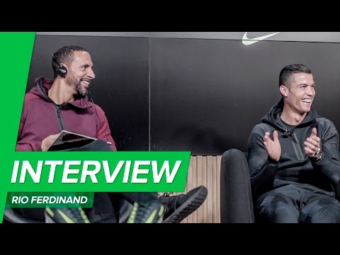 "Rio Ferdinand on Cristiano Ronaldo: ""He's competing with himself!""  