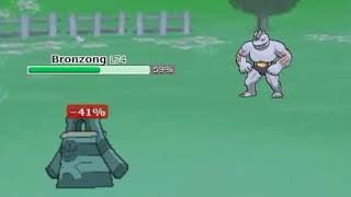 Bronzong vs. Machoke (Pokemon Showdown)
