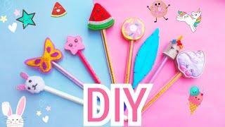 DIY Pens Decor//back to school //DIY school supplies 😍