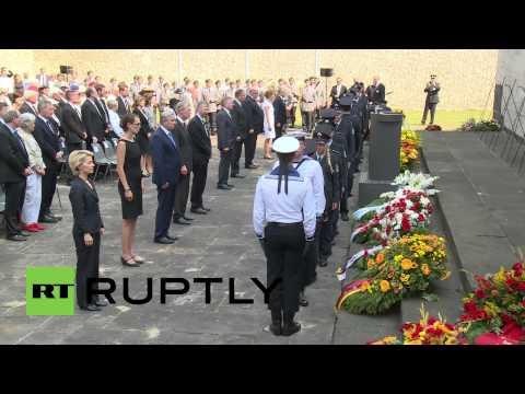 Germany: Operation Valkyrie Hitler assassins honoured