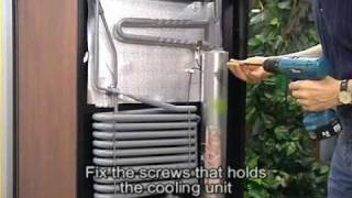 How To Replace Dometic Wine Cellar Cooling Unit