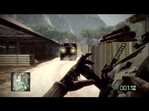 battlefield bad company 2 unlock all weapons single player