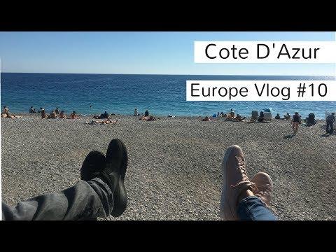 Europe Travel Vlog#10: Cote D'Azur, France