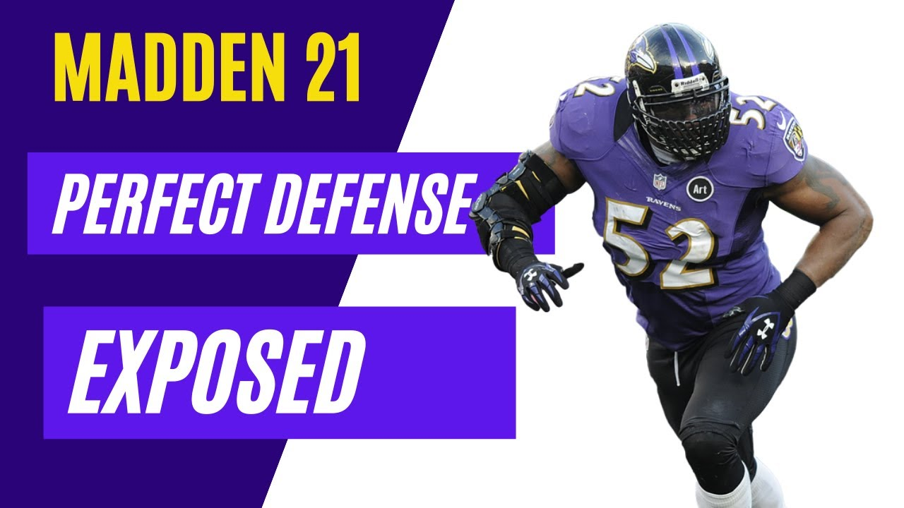 The Perfect Defense Exposed ( Full defense tutorial)  Madden 21 defense tips