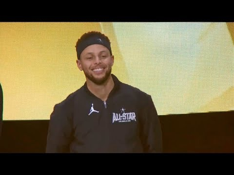 Team Stephen Introduction  Feb 18  2018 NBA AllStar Game