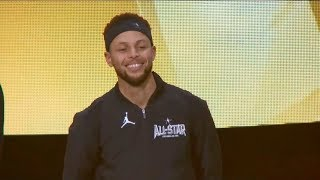 Team Stephen Introduction / Feb 18 / 2018 NBA All-Star Game