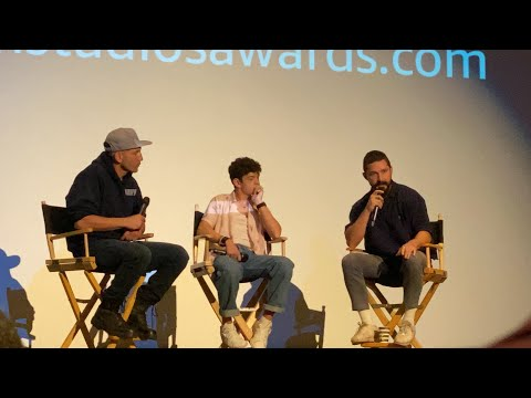 Honey Boy Q&A W/ Shia LaBeouf & Noah Jupe. Moderated By Jon Bernthal. 10/26/19, Los Angeles, CA.