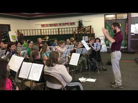Parchment Middle School Sixth Grade Band 3/26/19–Tambora