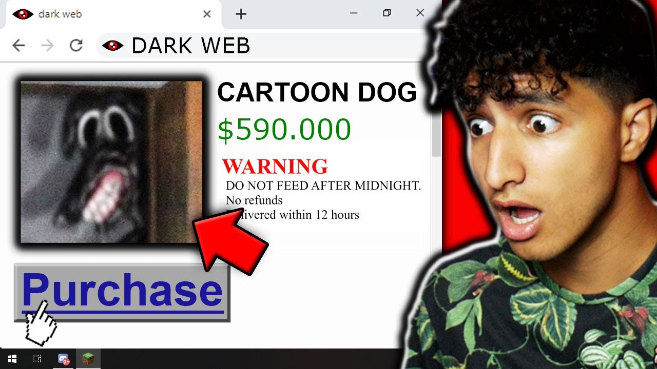 We Bought CARTOON DOG off The DARK WEB...