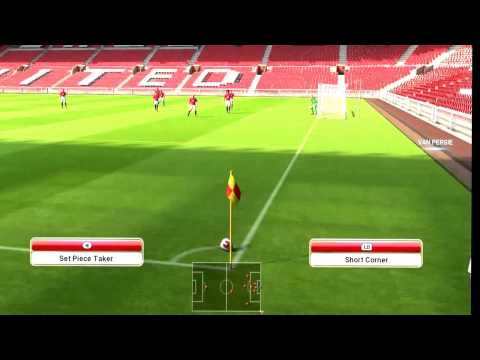 GAME TUTORIAL PES 2014 Low Shot Downward Header Volley