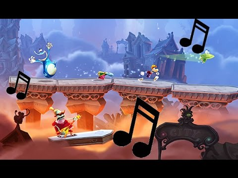 Rayman Legends | All Music Levels