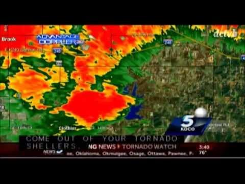 KOCO Tornado Coverage May 2013