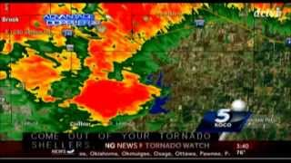 KOCO Tornado Coverage May 2013