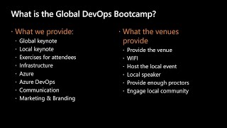 How to run the Global DevOps Bootcamp community event (with 10.000 participants) on | THR2202