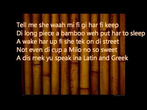 Bamboo - Masicka  ~ December 2015 (Lyrics!!)
