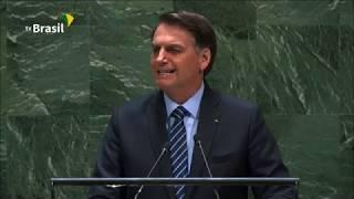 Discurso do presidente Bolsonaro na 74ª Assembleia Geral da ONU