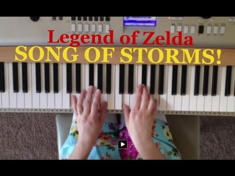Song of Storms Piano Tutorial!