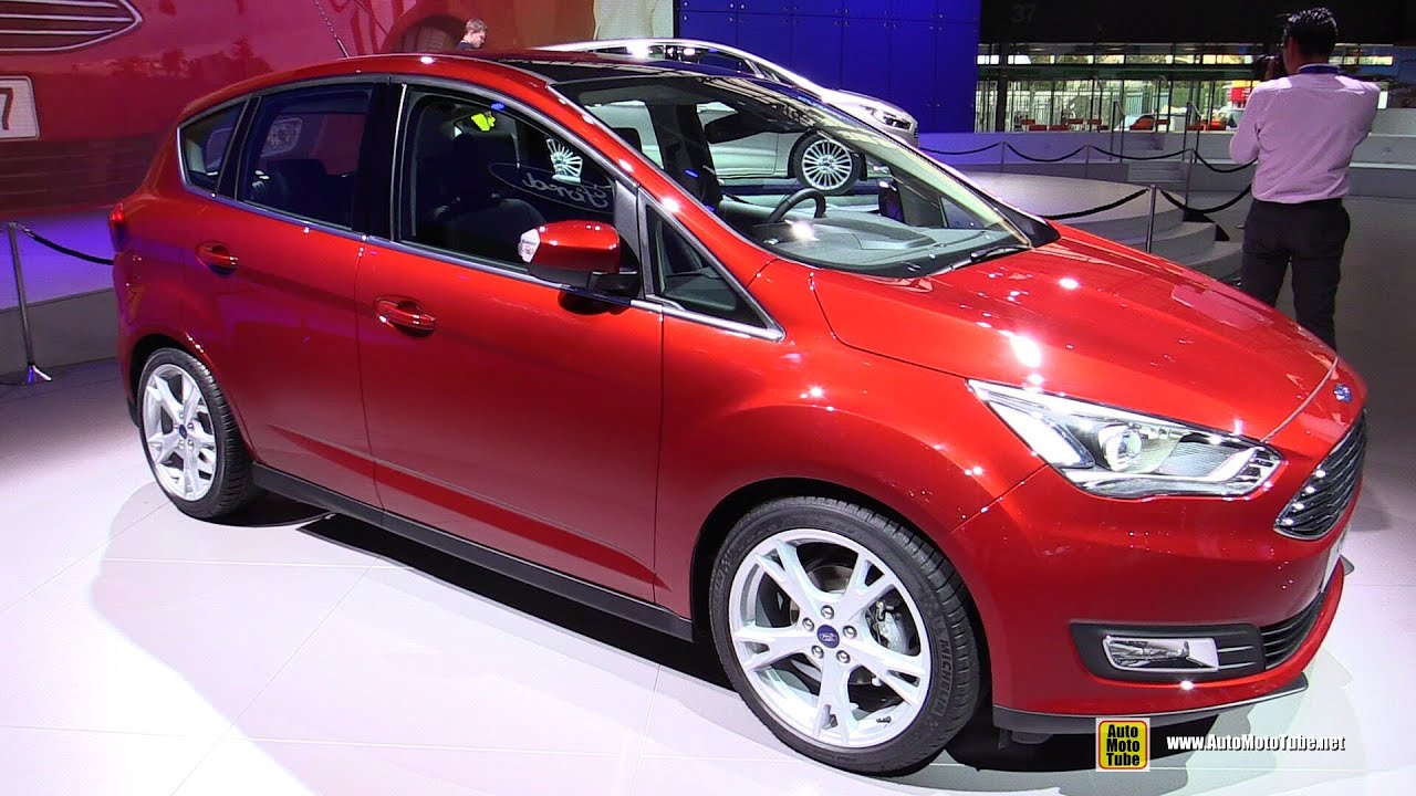 2015 Ford C-Max - Exterior Walkaround - 2014 Paris Auto ...