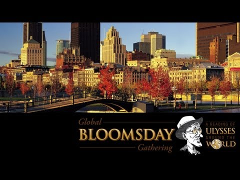Global Bloomsday Gathering -- Montreal Bloomsday Group, Canada