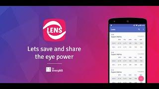 Lens: save & share eye power