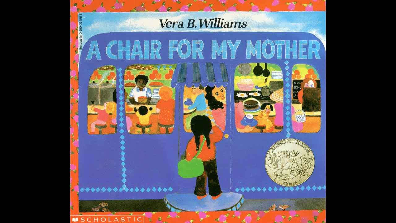 A Chair For My Mother Bar Height Folding Chairs By Vera B Williams Grandma Annii 39s