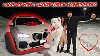 I BOUGHT MY WIFE A NEW LUXURY CAR FOR VALENTINES DAY! *EMOTIONAL*