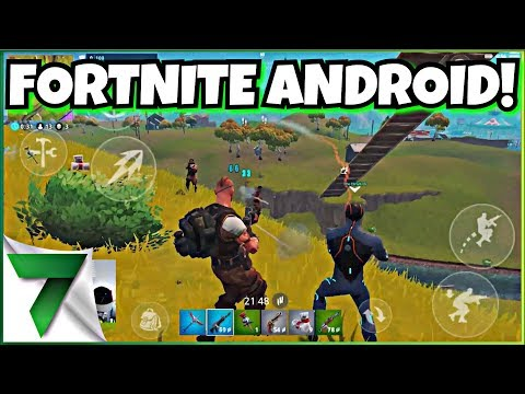 FORTNITE ANDROID RELEASE DATE NEWS!! | FORTNITE MOBILE
