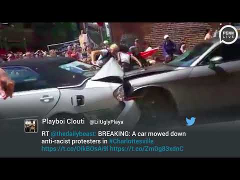 Car Drives Into Crowd In Charlottesville