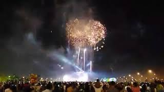 Phú Cường Rạch Giá bắn pháo hoa đêm giao thừa 2018 tại đảo Phú Gia