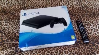 Распаковка PS4, обзор и ее розыгрыш)))