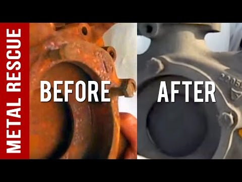 How To Remove Rust on Metal Car Part Safely & Quickly
