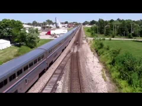 BNSF Run Bys at MARCELINE MO Marceline Subdivision 8-21-2015