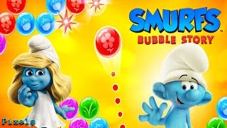 Smurfs Bubble Story - First Missions New Smurfs Unlocked