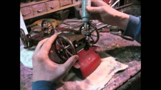 1912 Converse Pierce Arrow Wind-up Toy Car...fix Up