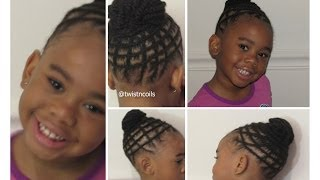Natural Braid Hairstyle for Kids(This video is showing how I achieve this cute braided undo hairstyle for children. Thank you for watching!!!!!!! Music by: T&B Productions, Inc - Slow Groove ..., 2014-06-06T00:40:23.000Z)