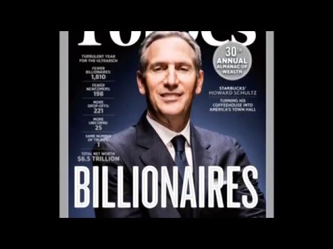 Forbes announces 2016 World's Billionaires list 02 March 2016