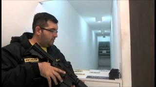 RIFLE DE PRESSÃO - CROSMAN - mod M4-177 -MULTI PUMP- 4,5mm