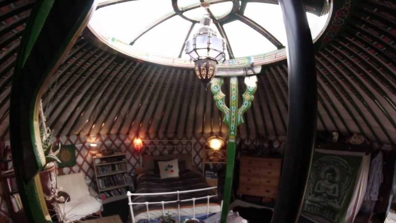 yurt interior - guided tour - youtube