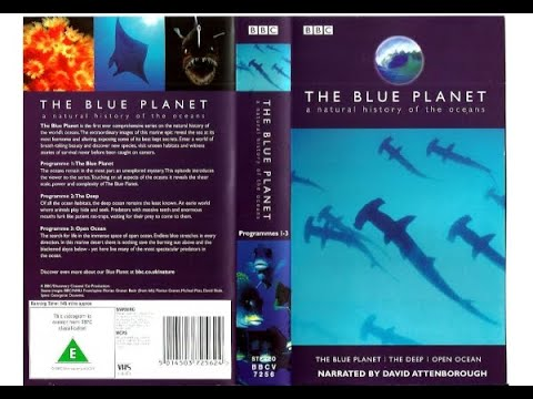 Opening & Closing to The Blue Planet Volume 1 UK VHS (2001)