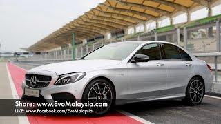 Evo Malaysia com | 2017 Mercedes AMG C43 Quick Drive at Sepang